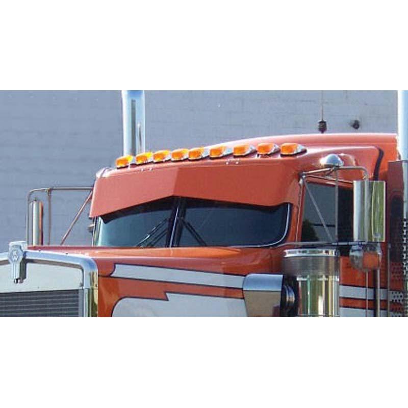 Curved Windshield Visors Big Rig Chrome Shop - Semi Truck Chrome ... 0825126e35f