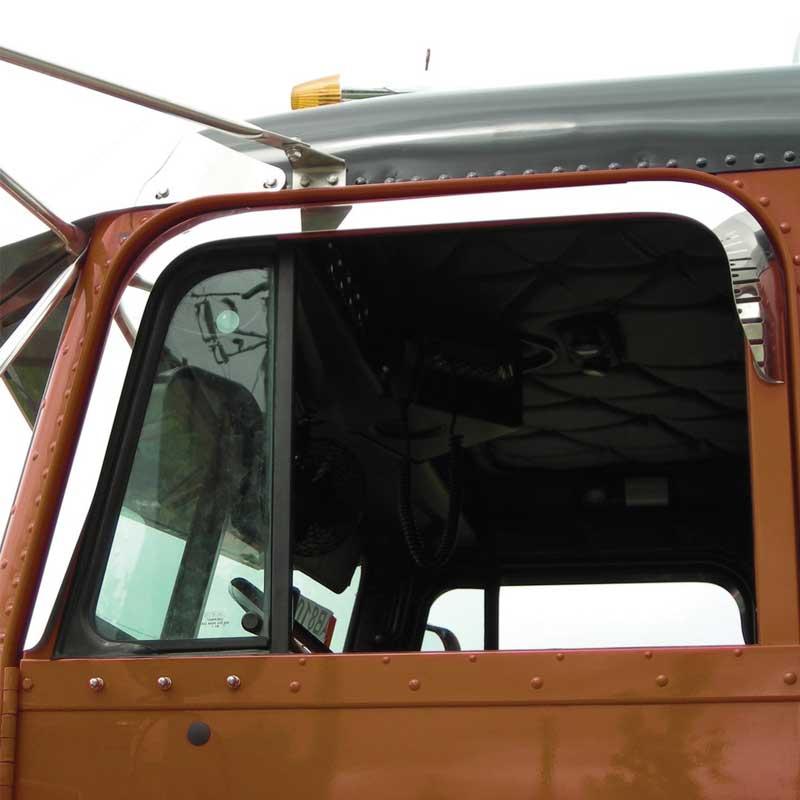 Freightliner Cab Door Trim Big Rig Chrome Shop - Semi Truck