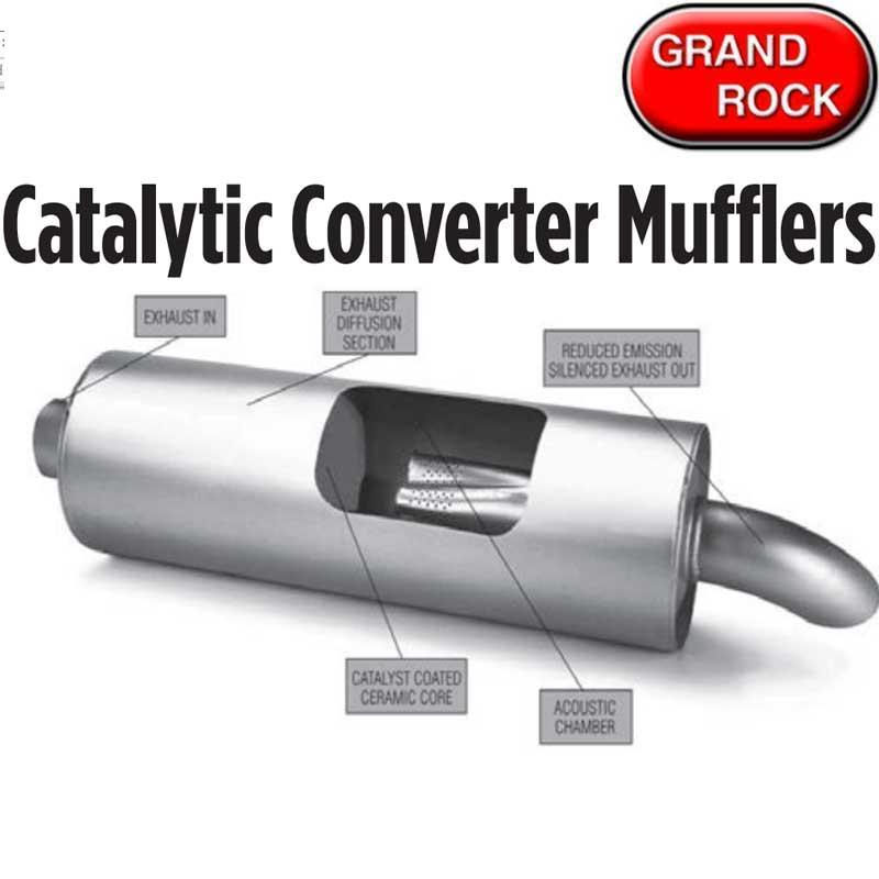 Mufflers and Resonators Big Rig Chrome Shop - Semi Truck