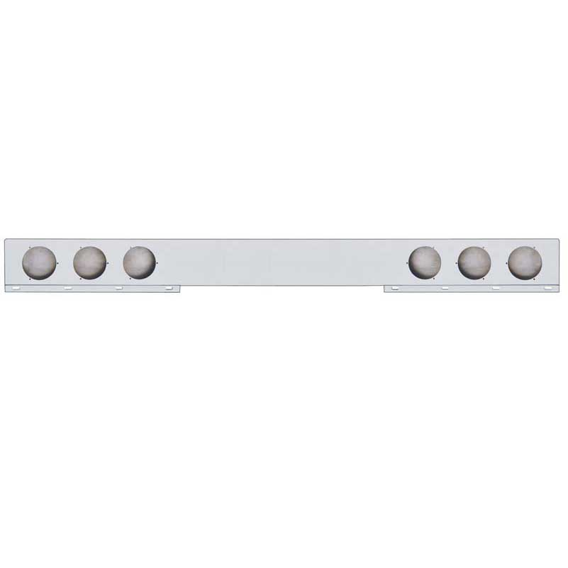 Single piece light bar big rig chrome shop semi truck chrome shop up30237 mozeypictures Image collections