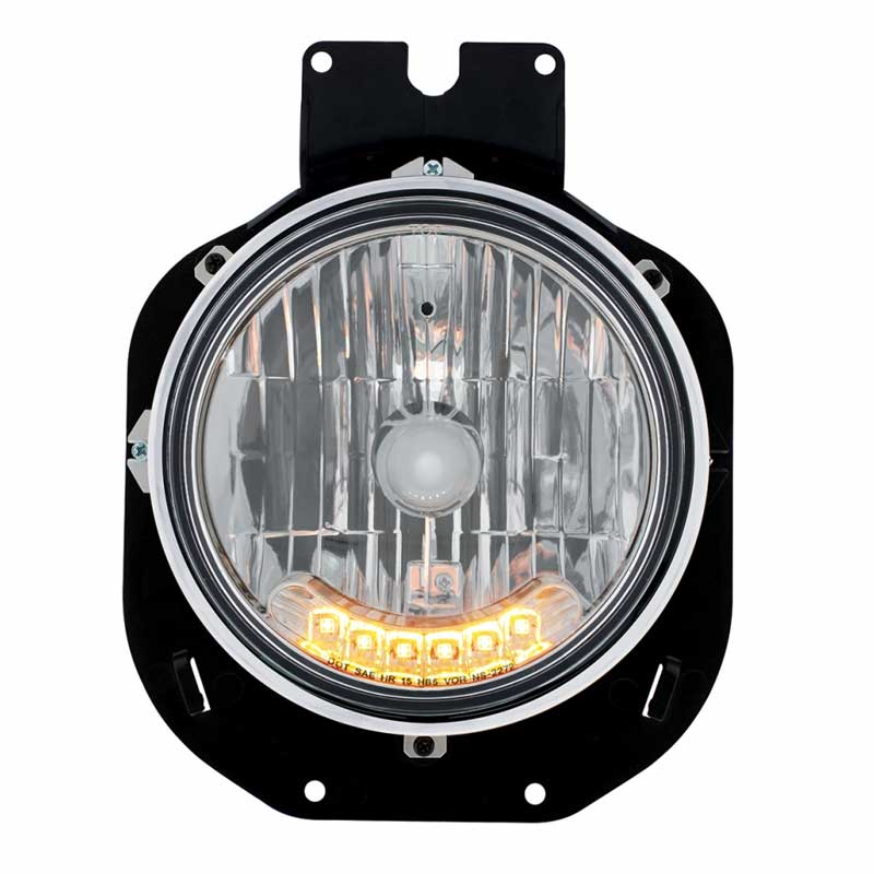 Clear Plastic Cover for FL Side Turn//Marker Grand General 76379 LED Light