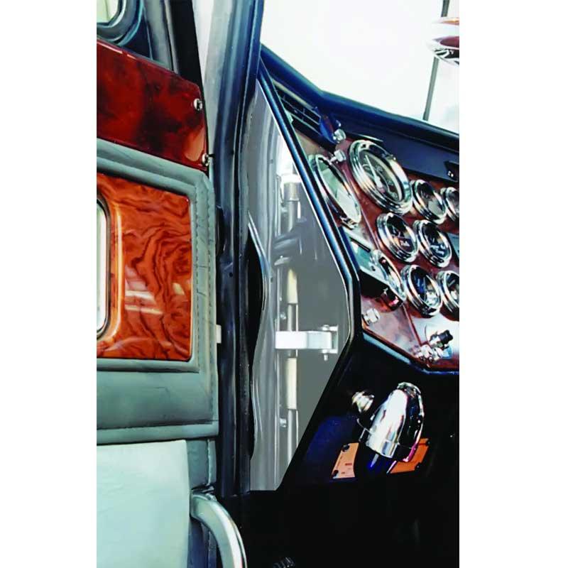 "5 1/"" stainless steel for Peterbilt Kenworth Freightliner Mack dash hole plugs"