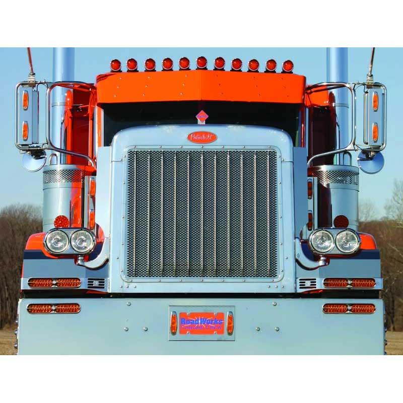 Semi Tractor Grills : Peterbilt grilles big rig chrome shop semi truck