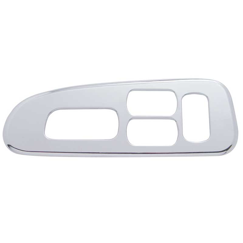 chrome plastic ceiling side trim for Peterbilt above the door opening trims 2