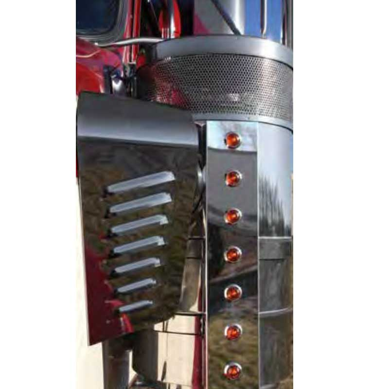 Air Cleaner Lights and Light Bars Big Rig Chrome Shop - Semi