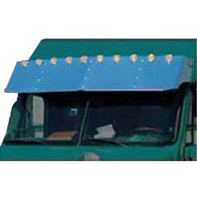 Freightliner Medium Duty Visors Big Rig Chrome Shop - Semi Truck