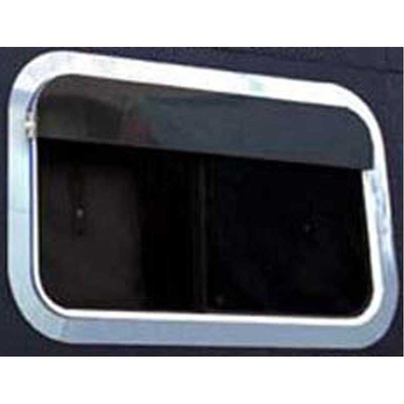 Sleeper Window Trims and Visors Big Rig Chrome Shop - Semi ...