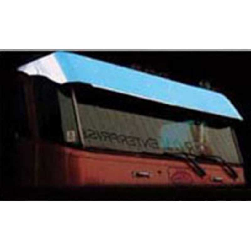 Peterbilt 352 & 362 Visors Big Rig Chrome Shop - Semi Truck