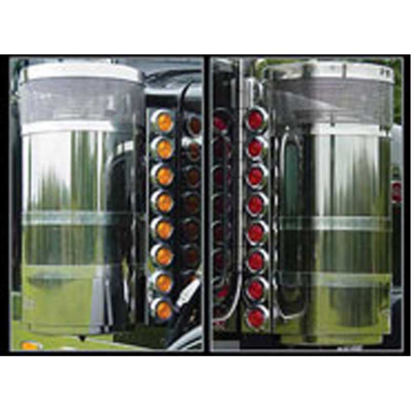 Semi Air Breather : Air cleaner lights and light bars big rig chrome shop