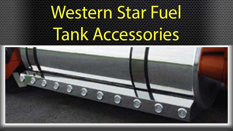 Fuel Tank Fairings and Straps Big Rig Chrome Shop - Semi
