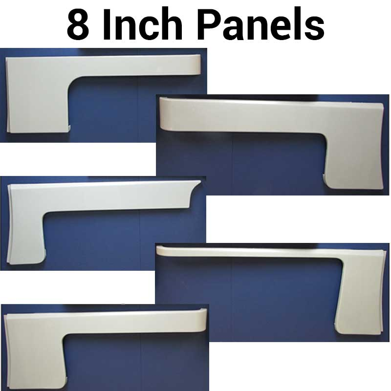 379 / 389 Fiberglass Cab & Sleeper Panels Big Rig Chrome Shop - Semi