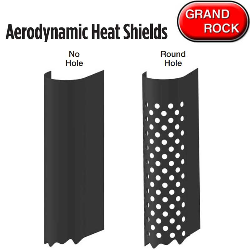 Heat Shields Big Rig Chrome Shop - Semi Truck Chrome Shop, Truck