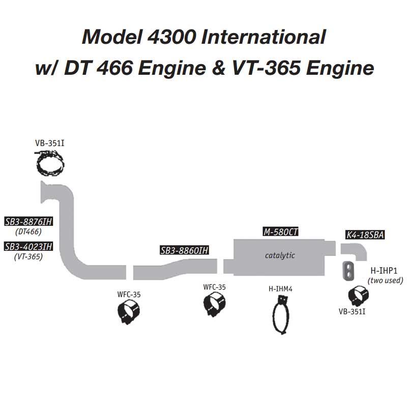 International 4300 Truck Parts Diagram   Wiring Diagram