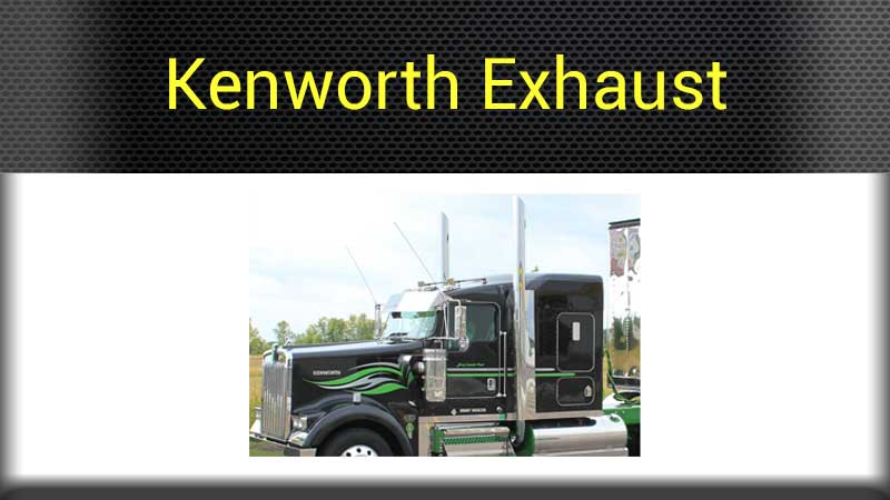 Kenworth Exterior Parts Big Rig Chrome Shop - Semi Truck Chrome Shop