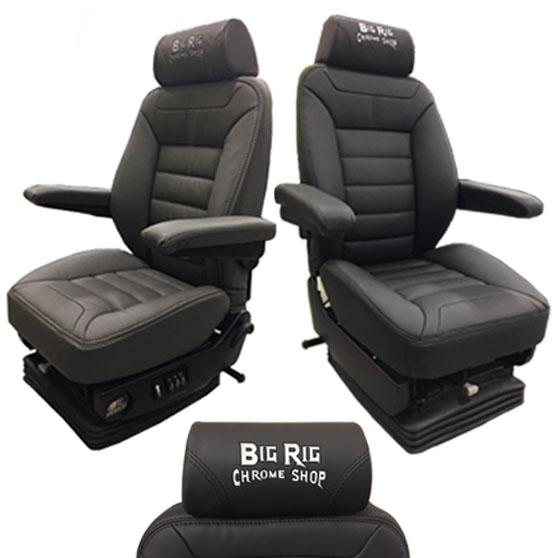 Semi Truck Seats >> Knoedler Seats Big Rig Chrome Shop Semi Truck Chrome Shop Truck