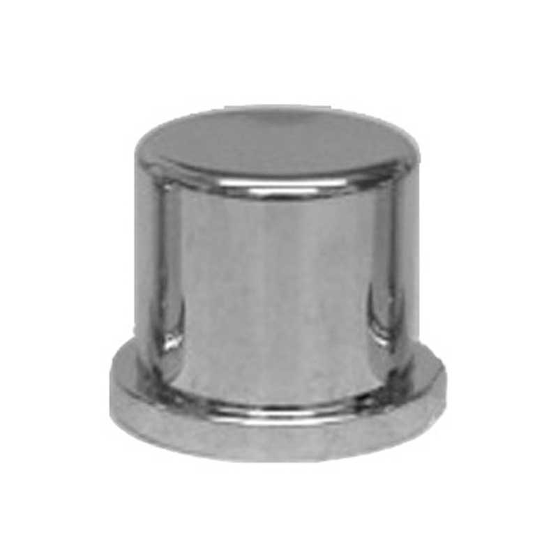 "lug nut covers 33MM flange 2 5//8/"" tall push on chrome plastic design top 20"