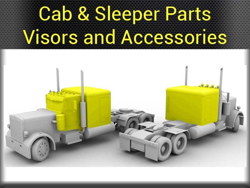 Peterbilt Exterior Parts Big Rig Chrome Shop Semi Truck Chrome