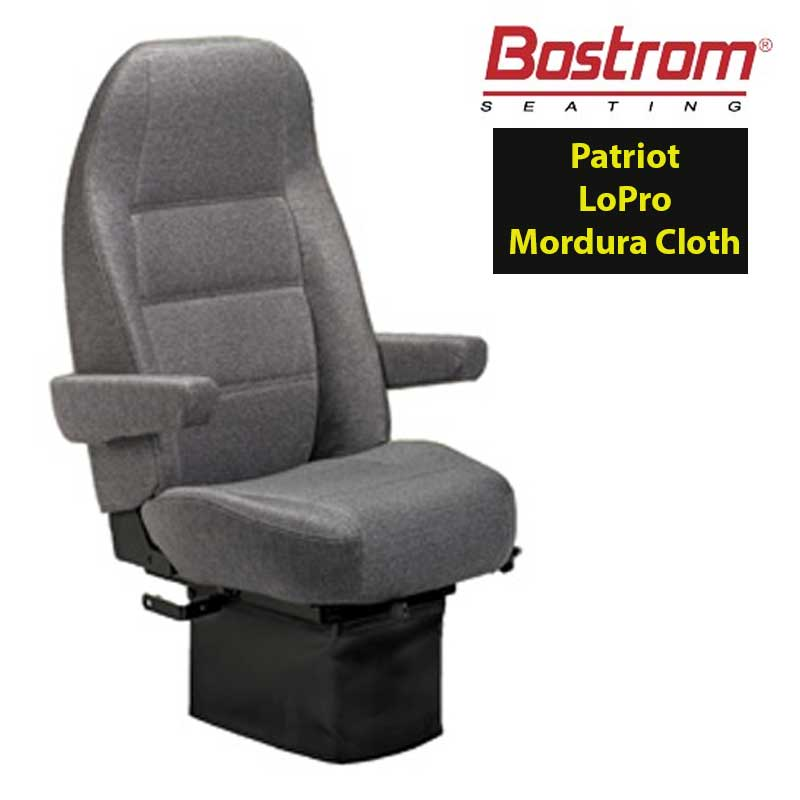 Patriot Seats Big Rig Chrome Shop Semi Truck Chrome Shop