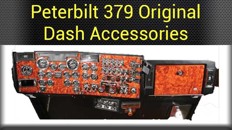 Peterbilt Dash Accessories Big Rig Chrome Shop - Semi Truck Chrome