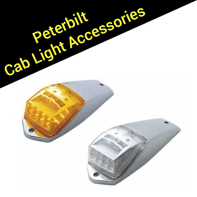 peterbilt lighting big rig chrome shop semi truck chrome. Black Bedroom Furniture Sets. Home Design Ideas