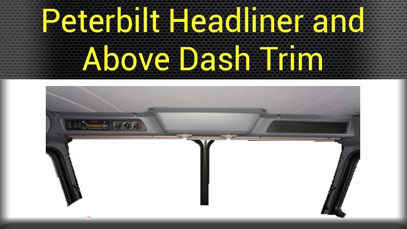 Truck Dash Covers >> Peterbilt Interior Parts Big Rig Chrome Shop - Semi Truck Chrome Shop, Truck Lighting and Chrome ...