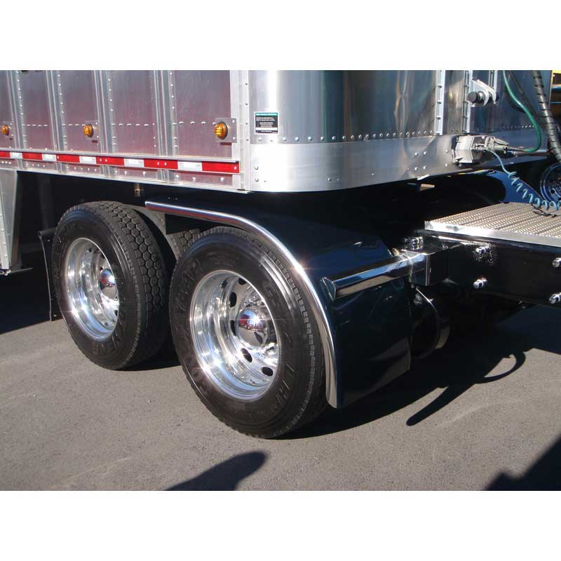 Big Truck Fenders Stainless Steel : Big rig chrome shop semi truck