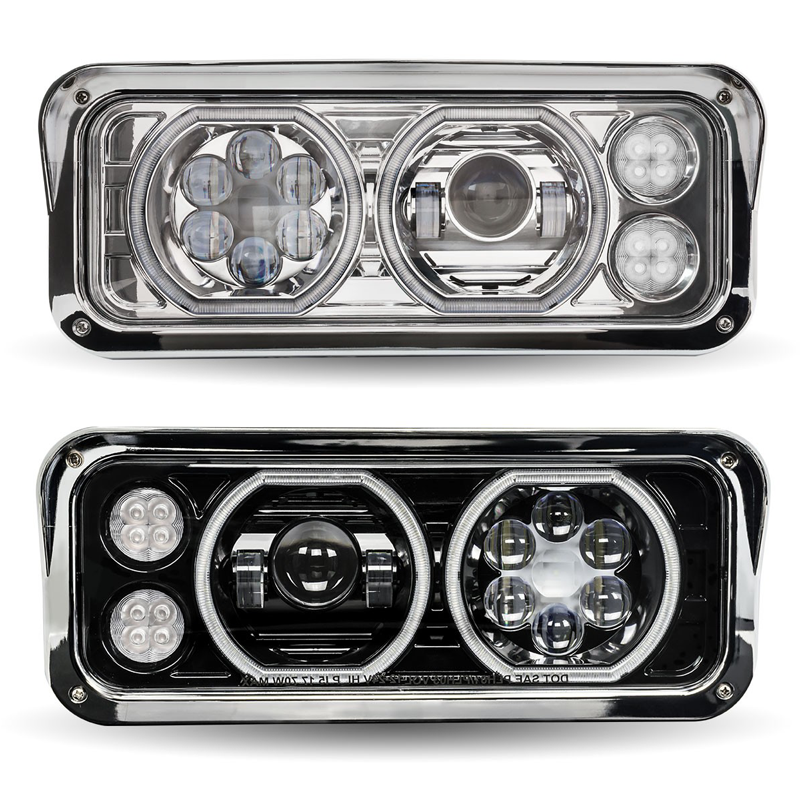 Head Light - Factory Replacements Big Rig Chrome Shop - Semi Truck on