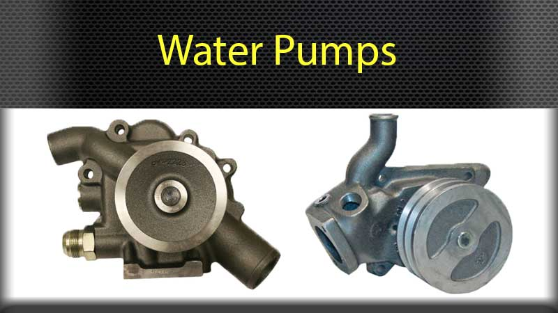 Engine Parts Turbo Chargers Water Pumps