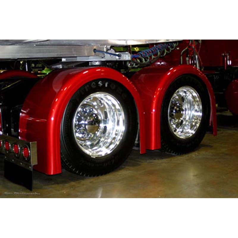 Custom Semi Truck Fenders : Big rig chrome shop semi truck