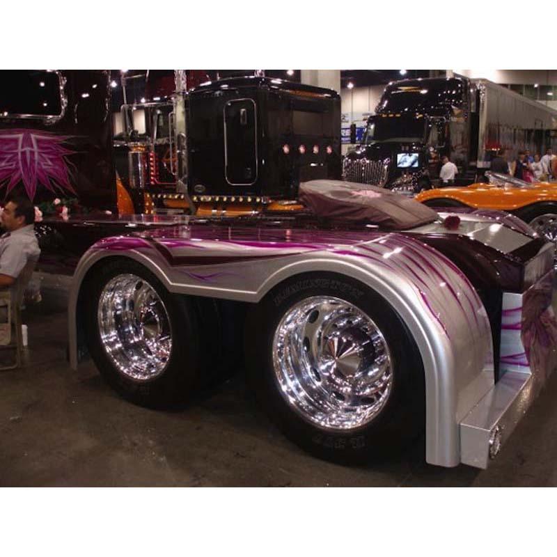 Big Rig Fenders : Bad ass custom fenders big rig chrome shop semi truck
