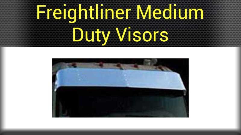 Freightliner Visors Big Rig Chrome Shop - Semi Truck Chrome Shop