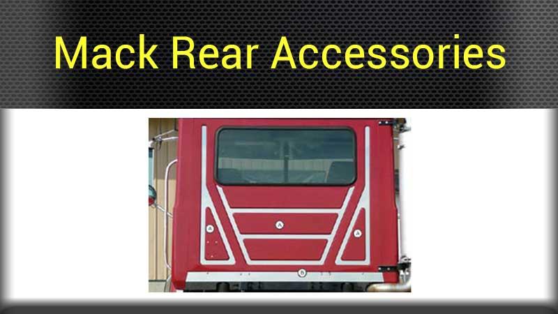 MackRearAccesories mack exterior parts big rig chrome shop semi truck chrome shop