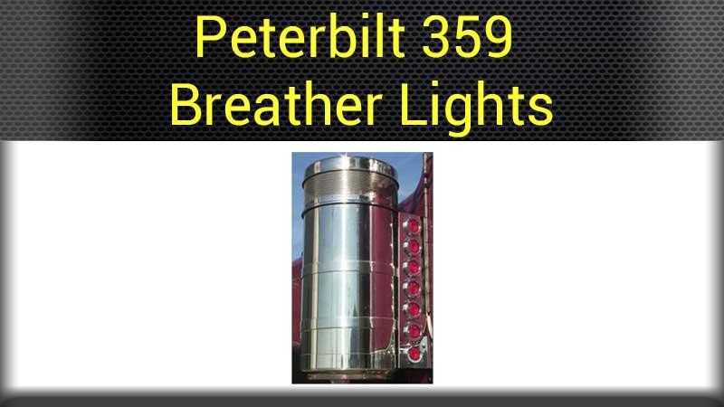 Semi Air Breather : Peterbilt air cleaners accessories big rig chrome shop