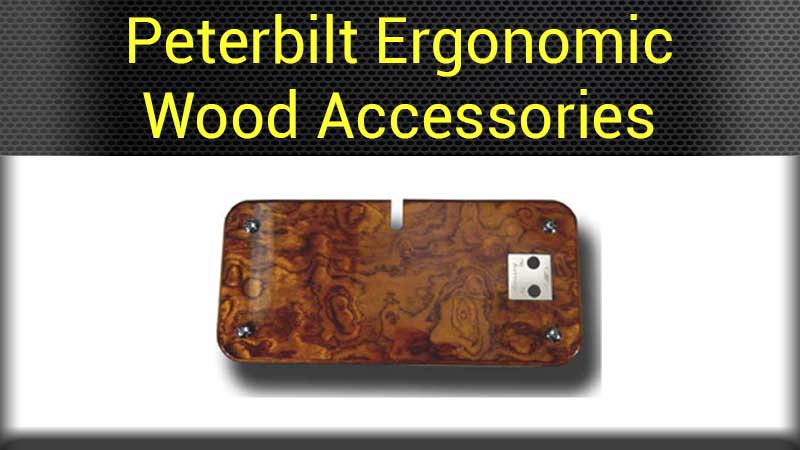 Peterbilt 379 ergo dash accessories big rig chrome shop for Wood floor for 379 peterbilt