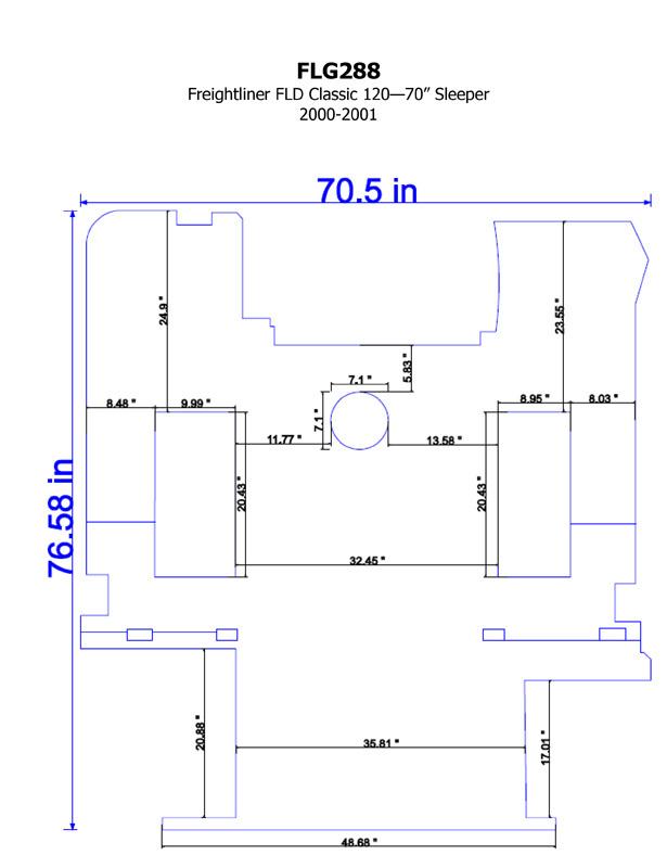 semi truck floor plans. Freightliner FLD 120 Carpet Overlay 70 Inch Sleeper 2000 2001 Big Rig Chrome Shop  Semi Truck Lighting and