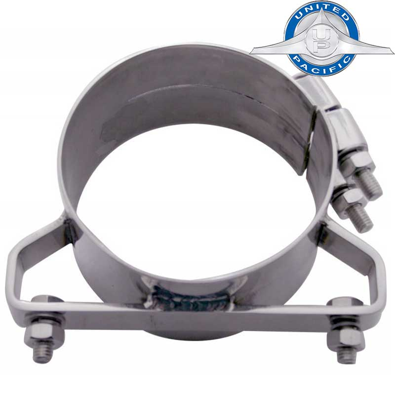 Freightliner Exhaust Clamps Big Rig Chrome Shop - Semi Truck Chrome ...