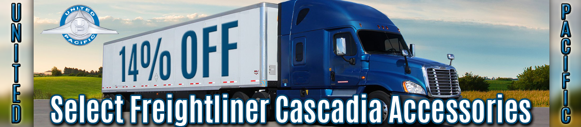 UP Freightliner Cascadia Accessories