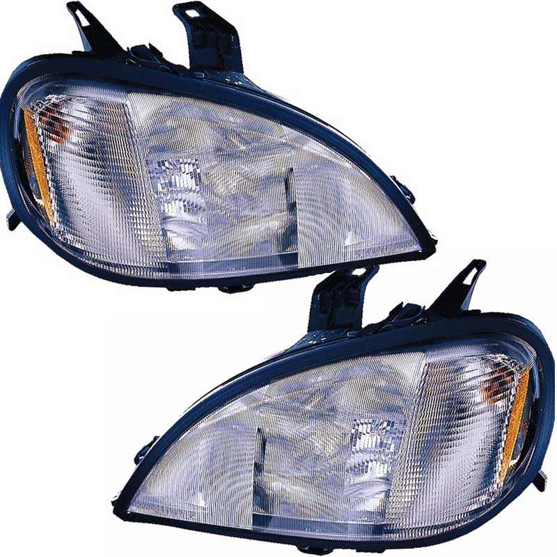 Picture Of Big Rig Headlights : Head light factory replacements big rig chrome shop