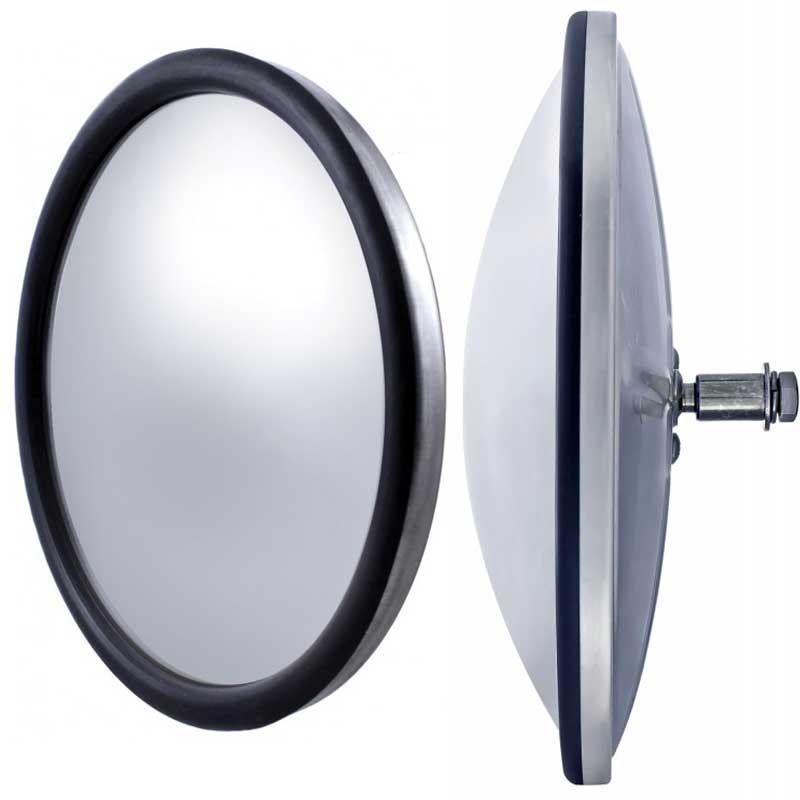 Convex Mirrors Big Rig Chrome Shop Semi Truck Chrome