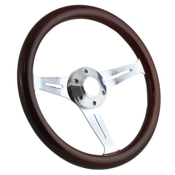 14 Real Oak Steering Wheel Half Wrap Forever Sharp Wheels Made in the USA