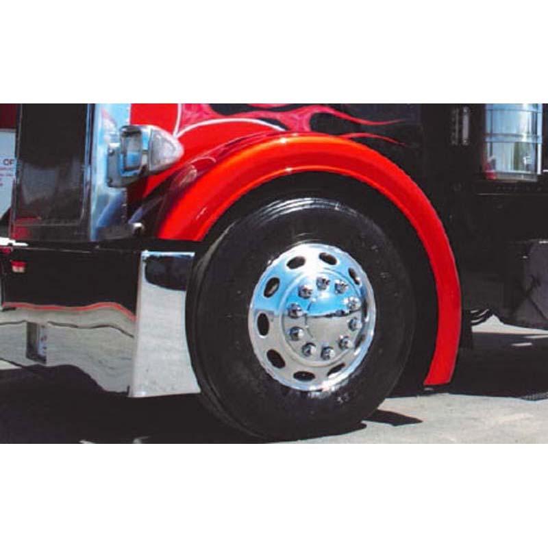 Big Truck Fiberglass Fenders : Peterbilt front fenders big rig chrome shop semi truck