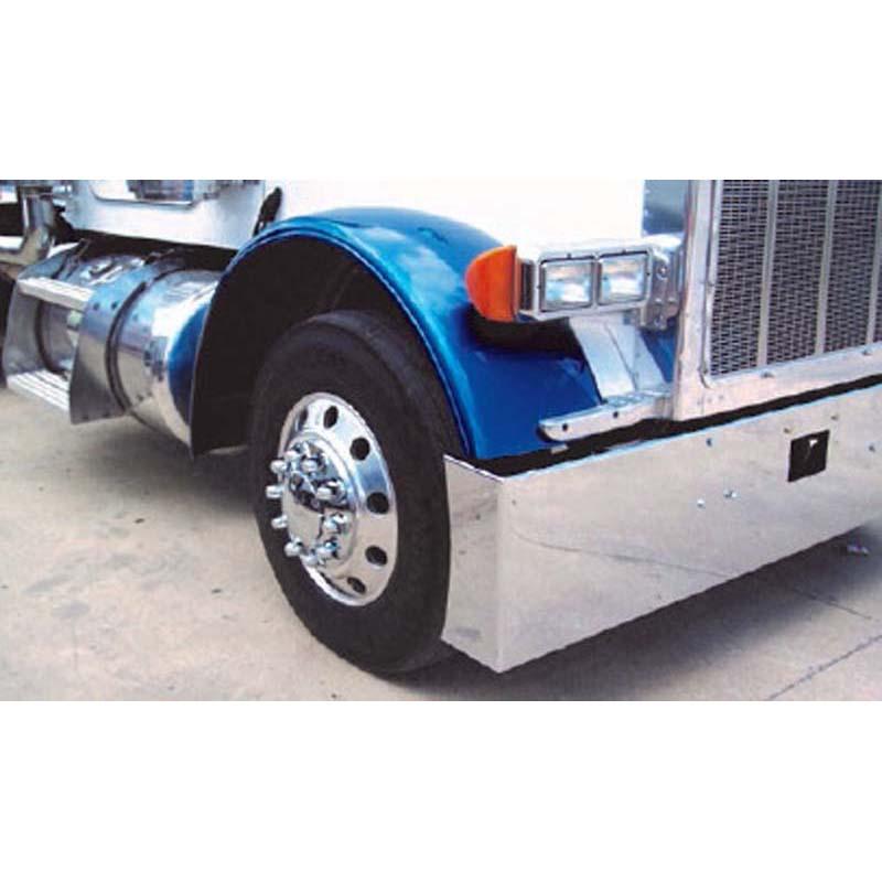 Big Rig Fenders : Peterbilt front fenders big rig chrome shop semi truck