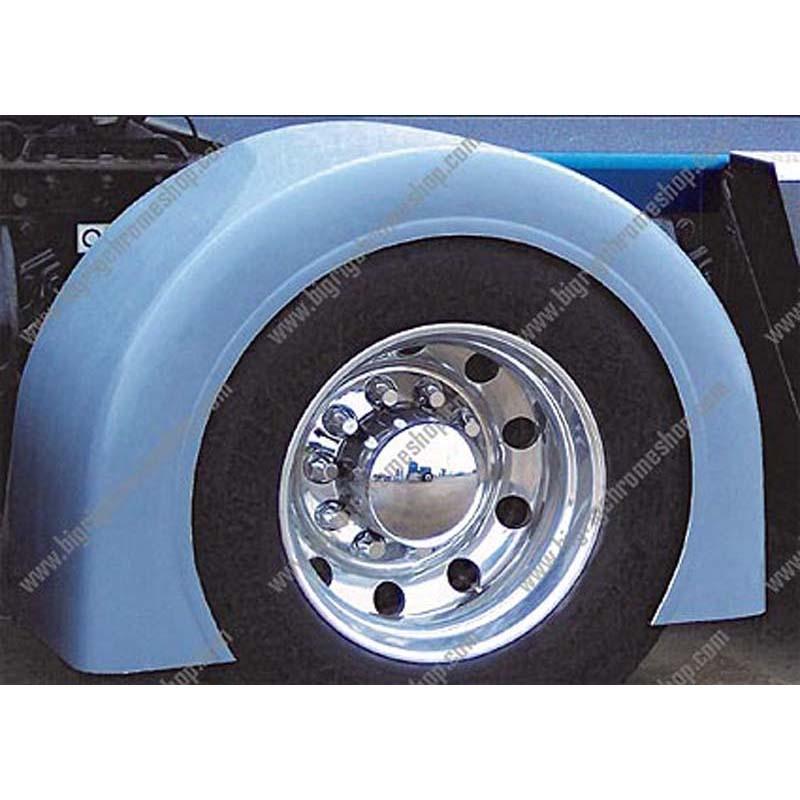 Big Truck Fiberglass Fenders : Fiberglass single axle fenders big rig chrome shop semi