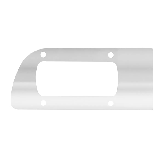 GG Grand General 53970 Chrome Plated Plastic Steering Column Cover for KW W900 2002-2005