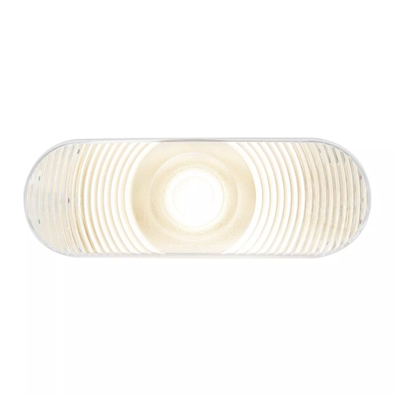 Grand General 80804 Sealed Light Oval Red Incandescent S//T//T//with Grommet and Pigtail