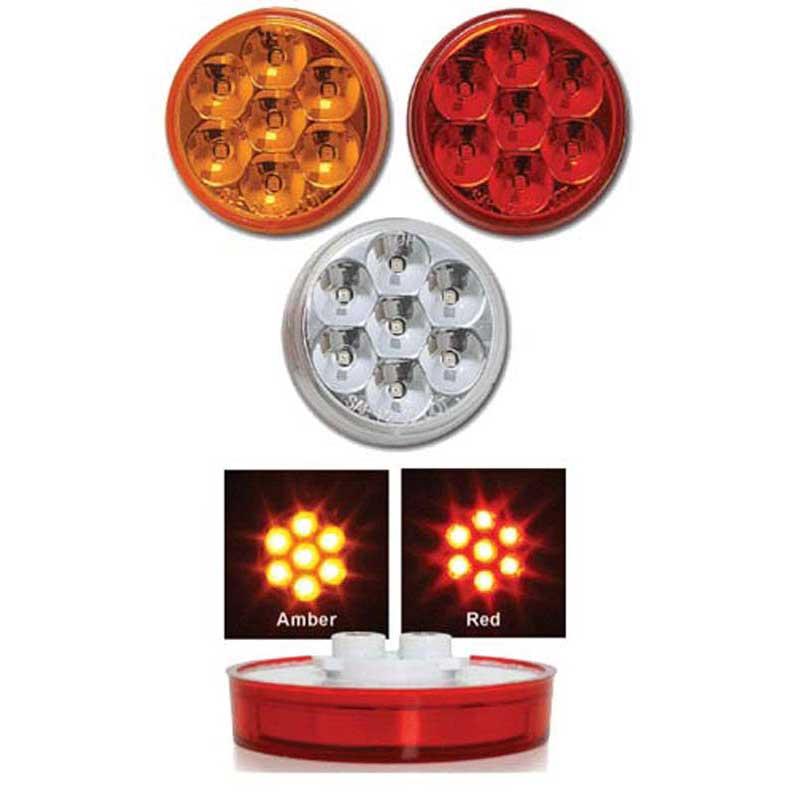 GG Grand General 77750 Light 2 Spyder 3 LED Beehive Only, Amber Lens