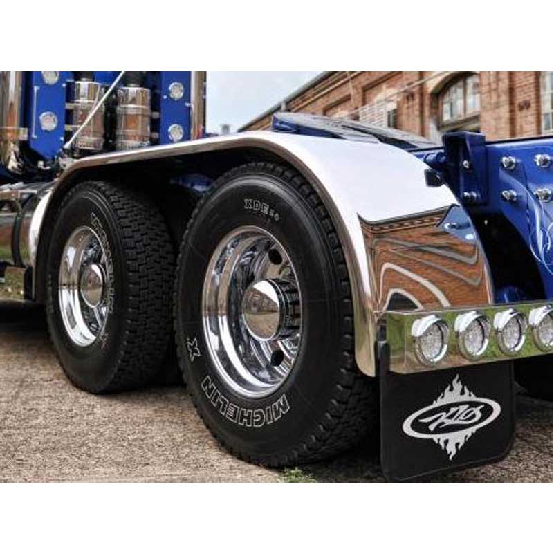 Big Rig Fenders : Stainless full fenders big rig chrome shop autos we