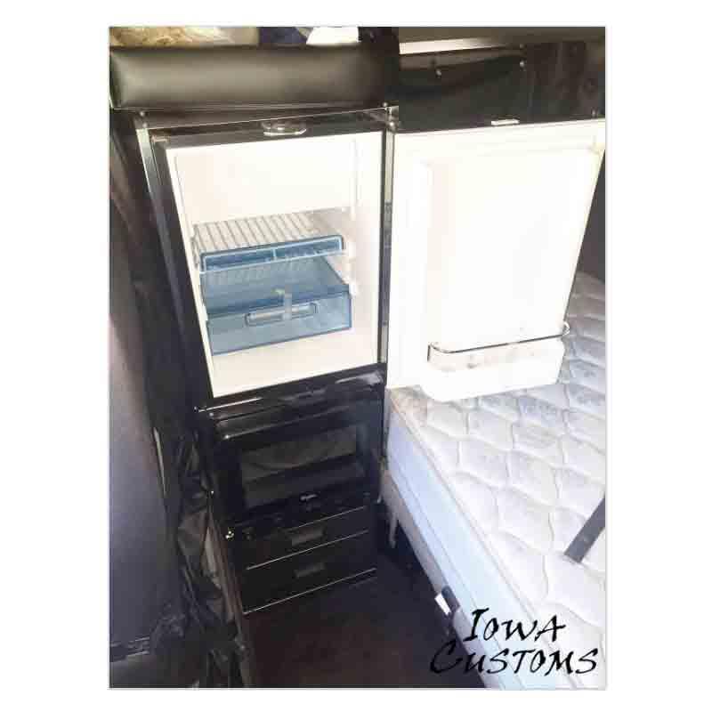 Iowa Customs W900 Refrigerator Kit With Microwave And Storage
