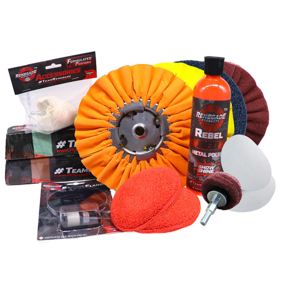 Buffing Wheels and Accessories Big Rig Chrome Shop - Semi