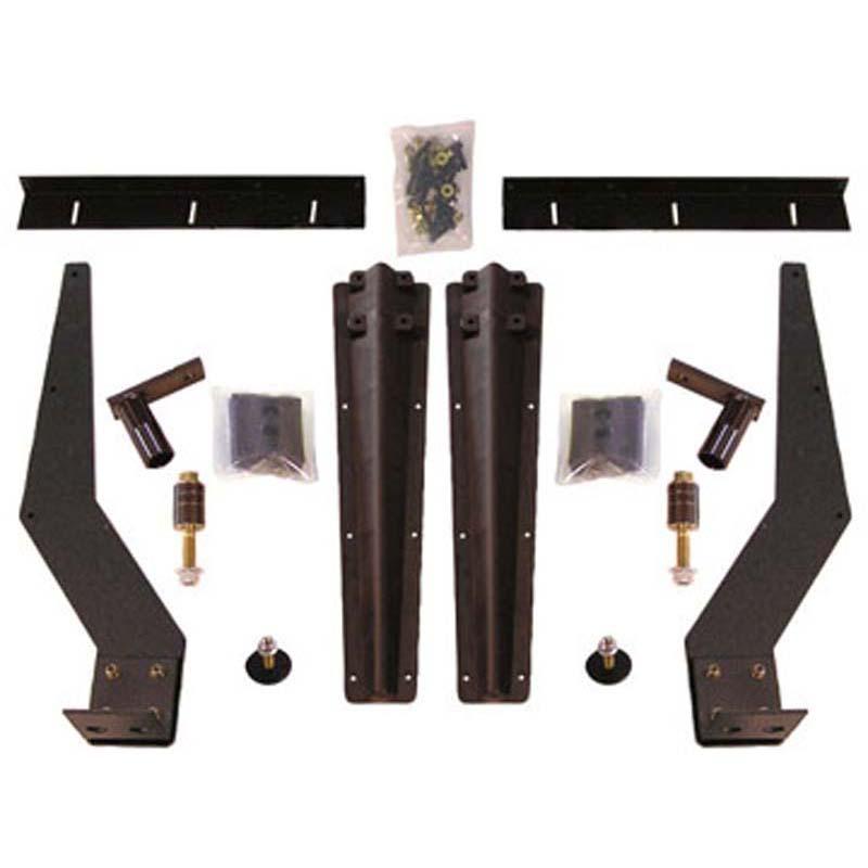 Truck Fender Brackets : Poly fender bracket kits big rig chrome shop semi truck